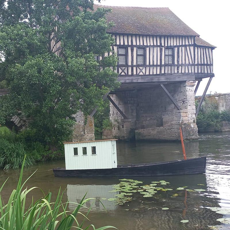 barque Monet moulin