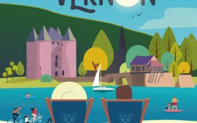 Destination Vernon c'est parti !!